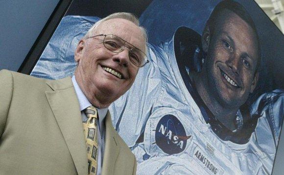 US austronaut Neil Armstrong
