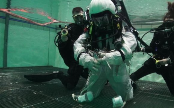 Training for space underwater