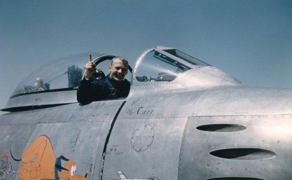 F-86 Sabre Pilot Lieutenant