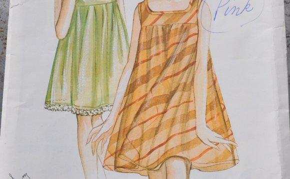 Simple Night Dress Pattern