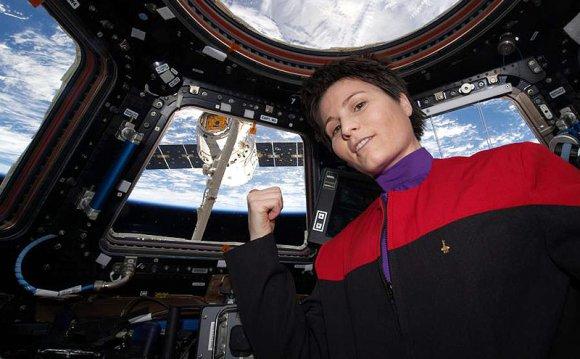 Italian Astronaut Sports Star