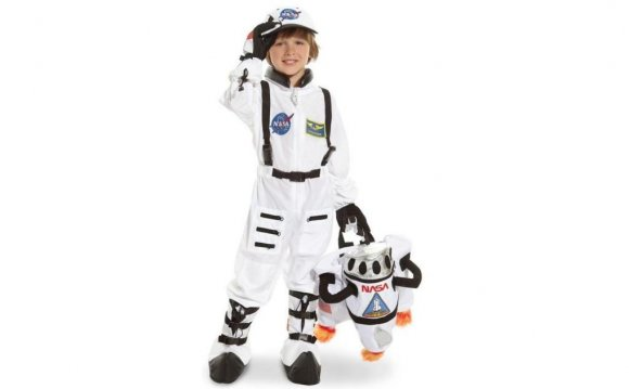 Jr. Astronaut White Suit Child