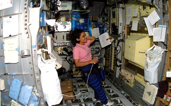 Astronaut Kalpana Chawla