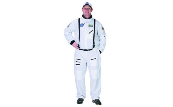 NASA Astronaut White Suit