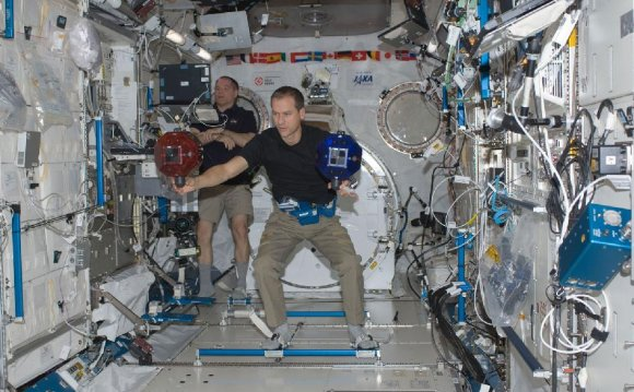 Astronauts Kevin Ford and Tom