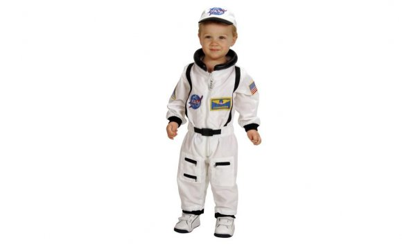 NASA Jr. Astronaut Suit White