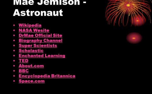Mae Jemison - Astronaut