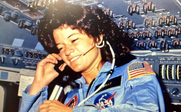 First American woman astronaut