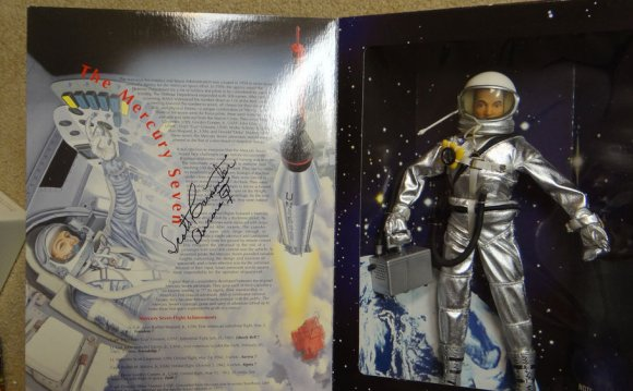 Scott Carpenter Signed Gi Joe