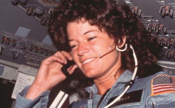 VIDEO: Astronaut Sally Rides