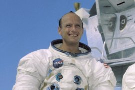 Charles 'Pete' Conrad commanded Apollo 12, and also went into space aboard Gemini 5, Gemini 12 and the second Skylab mission.