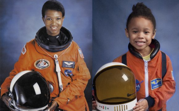 Black woman astronaut