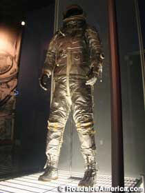 Gus Grissom's space suit.