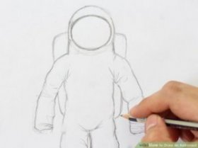 Image titled Draw an Astronaut Step 7