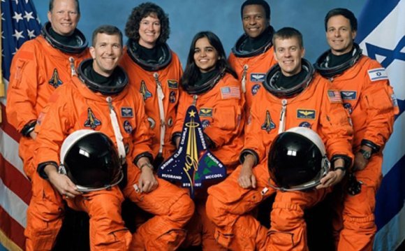 Space Shuttle astronauts