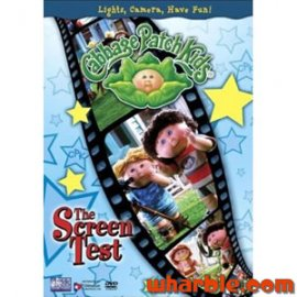 The Cabbage Patch Kids Screen Test DVD