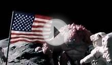 Astronauts Attacked By Monster On The Moon