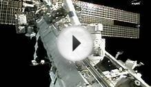 Astronauts pull off broken pump in space