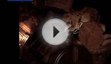 NASA astronauts perform spacewalk outside the ISS
